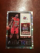 2015-16 Panini Contenders Draft Picks Paul George Cracked Ice # /23 Fresno State