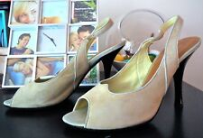 Authentic Louis Vuitton Light Green Women's Heels Sz 10