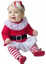 Cotton Blend Santa Claus Dresses (2-16 Years) for Girls