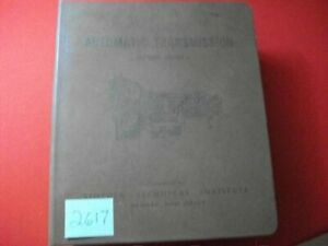 1964 AUTOMATIC TRANSMISSION SERVICE GUIDE MANUAL FOR CLASSIC DOMESTIC CARS EXC.
