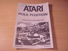 Atari XL/XE - POLE POSITION - Game Manual - Dutch Language -2