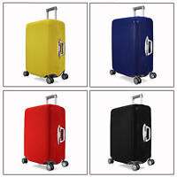 "S Elastic Travel Luggage Suitcase Spandex Cover Protector For 18'' ~ 20"" Case"