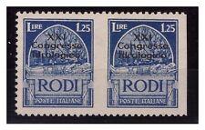 EGEO 1930 - CONGRESSO IDROLOGICO - Lire 1,25   NON DENT.   COPPIA   NUOVA **