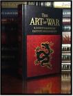 The Art of War by Sun Tzu New Leather Bound Gift Hardback Eastern Philosophy ++