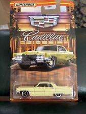 2020 Matchbox 1969 Cadillac Sedan Deville Yellow Car Mbx Cadillac