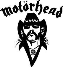 Motorhead Lemmy Kilmister Vinilo Calcomanía Adhesivo 14 cm X 14.7 Cm