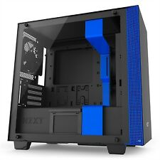 Caja Semitorre Nzxt H400i Smart ATX Negro/azul