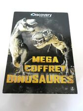 Dvd Mega coffret Dinosaures Discovery channel 4 dvd Seven 7  Occasion -^-^-^-^-^