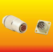 7 PIN 22 A 200 V AIRCRAFT MILITARY ELECTRICAL CONNECTOR RS7TV