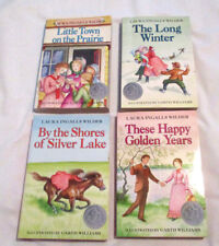 4 Little House Books by Laura Ingalls Wilder
