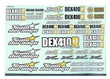 RC Team Durango TD490006 DEX410R Body Decal Sticker Sheet NIB 1/10 4wd BUGGY