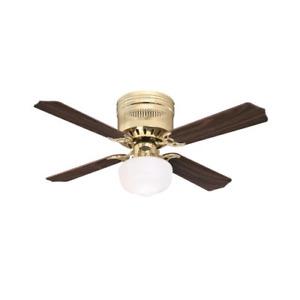 Casanova Supreme 42-Inch Indoor Ceiling Fan with LED Light Fixture Opal Schoolho