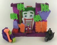 Imaginext Fisher Price Joker Fun House Playset Batman Toy Figures Hammer Scooter
