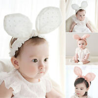 Bow Knot Accessories Hair Band Baby Headband Headwear Rabbit Ears