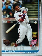 2019 TOPPS UPDATE 150 YEARS GOLD STAMPED RONALD ACUNA Jr DERBY US271 BRAVES