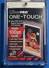 100pt - - Ultra Pro - - ONE TOUCH MAGNETIC hard case card protector ~~ (2ct)