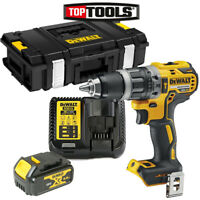 DeWalt DCD796 18V XR BL Combi Drill With 1 x 4Ah Battery, Charger & DS150 Case