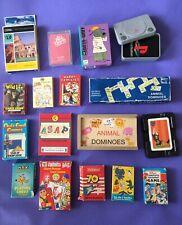 More details for job lot 17 vintage/modern packs mainly children's card games/quiz/dominoes/snap