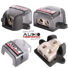 Audio System ZDB6 2-fach Stromverteilerblock 50mm² Auto KFZ Stromkabel Verteiler