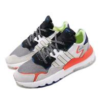 adidas Originals Nite Jogger Boost White Black Solar Red Men Running Shoe EF8718