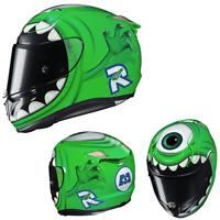 HJC RPHA-11 Pro Mike Wazowski Disney Pixar Riding Motorcycle Street Helmet