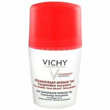 VICHY INTENSIVE ROLL ON DEODORANT 72H Excessive Perspiration 50ml US Seller