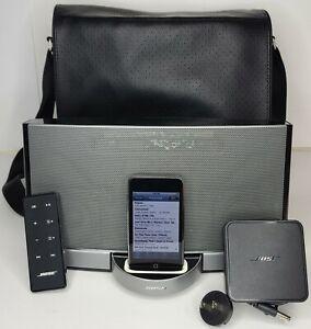 Bose SoundDock Portable Digital Music Speaker iPod Dock W/ Remote + 8gb Ipod
