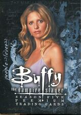 Inkworks Buffy TVS Season 5 Ultimate Collection Complete 90 Card Base Set