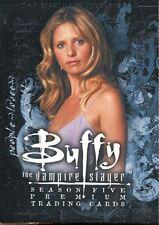Inkworks Buffy TVS Season 5 Ultimate Collection Complete 90 Card Base Set