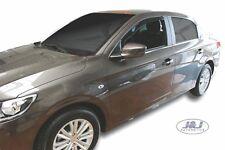 Peugeot 301 4 portes 2013-prés Deflecteurs d'air Déflecteurs de vent 2pcs