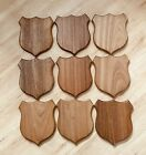 OAK WOOD PLAQUES, Brand New. I Have 9, $18 Each.     *** All 9 For $100 ***