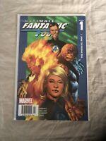 Ultimate Fantastic Four #1 Newsstand Variant-1st App Maker. Venom - Codex- Rare!