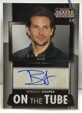 Bradley Cooper 2015 Panini Americana On The Tube Signatures Autograph Auto