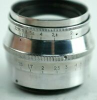 US Sell JUPITER 8 silver lens 50mm f2.0 M39 mount Leica M Portrait Rangefinder