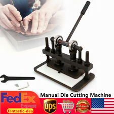 Manual Leather Cutting Machine Leathercraft Die Cut & Leather Embossing Machine