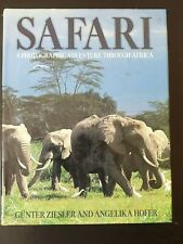 Safari a photograph adventure through Africa book
