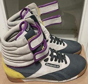 Reebok Classic Limited Ed Alicia Keys Freestyle Shoes Hi Dubble Bubble Size 8