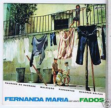 45 RPM EP PORTUGAL FERNANDA MARIA FADOS SAUDADE DA SAUDADE