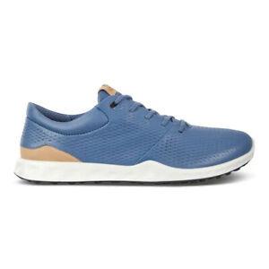 NEW Womens ECCO S-Lite Spikeless Golf Shoes Retro Blue US 7-7.5 EU 38
