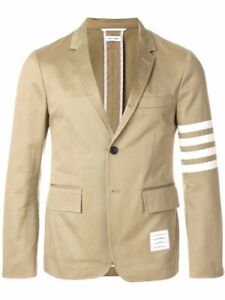 Thom Browne Sports Coat Authentic Mens Large 4BAR  ##3DAY SALE##