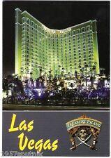 Treasure Island TI Las Vegas Hotel Casino old Pirates Siren facade postcard h