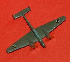 WIKING Flugzeug - Messerschmitt ME 110 - mit Kokarden Propellernasen rot