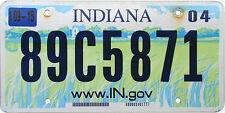 Indiana FARM SCENE License Plate