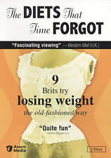 The Diets That Time Forgot (DVD, 2-Disc Set)