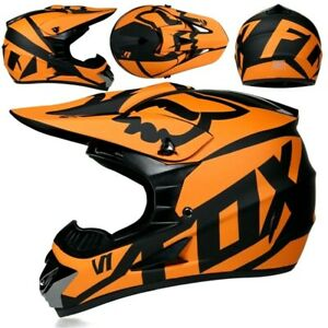 Fox Racing V1 Helmet - MX Motocross Dirt Bike Off-Road ATV MTB Adult Gear Dirt X