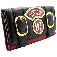 Official Harry Potter Hogwarts Women Tri-fold Wristband Wallet Purse Xmas Gift