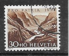 SCHWEIZ/ Pro Patria 1952 MiNr 573 o