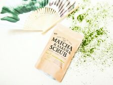 SASS. Matcha Scrub.Natural ingredient exfoliator Clear Glowing silky smooth skin
