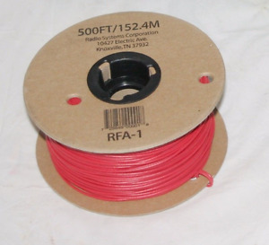 fits PetSafe PetStop Dog Fence 500 ft 20 Gauge Red STRANDED Copper Boundary Wire