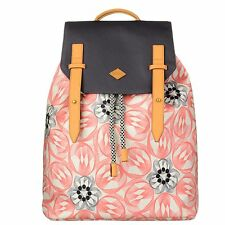 NEU Oilily Rucksack Flower Swirl Backpack Pink Flamingo Damen Rucksack Pink OVP